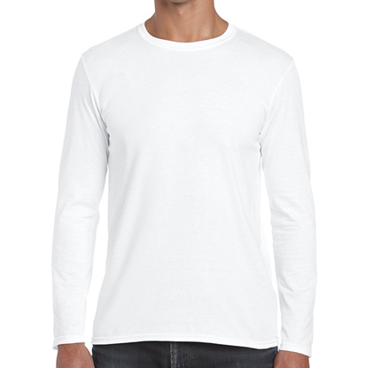 Camiseta larga blanca